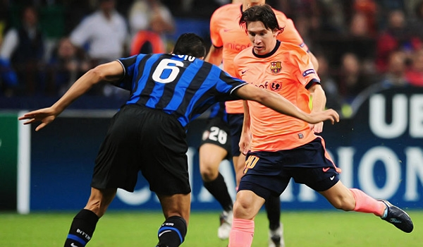 Lionel Messi scored twice leading powerhouse