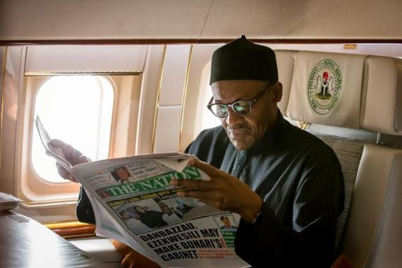 Buhari Rely on NAF 001 Aircraft For Protection, Technology And Comfort- Presidency
