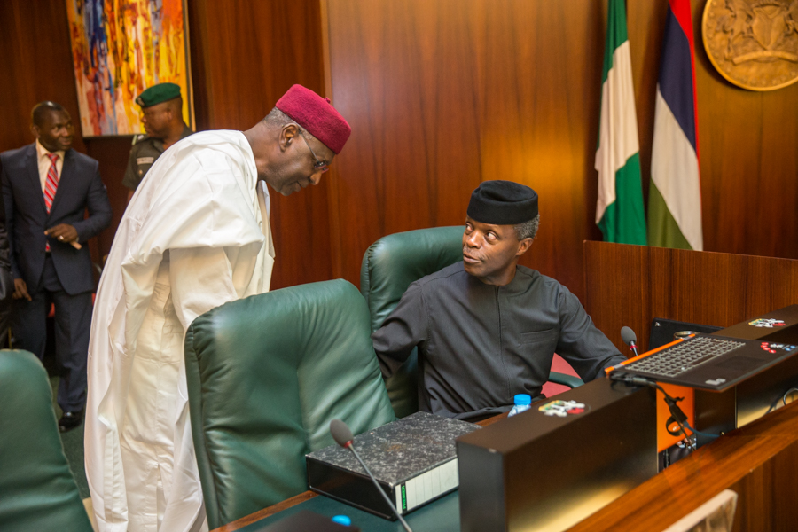 Osinbajo To Swear in Two Ministers on Wednesday