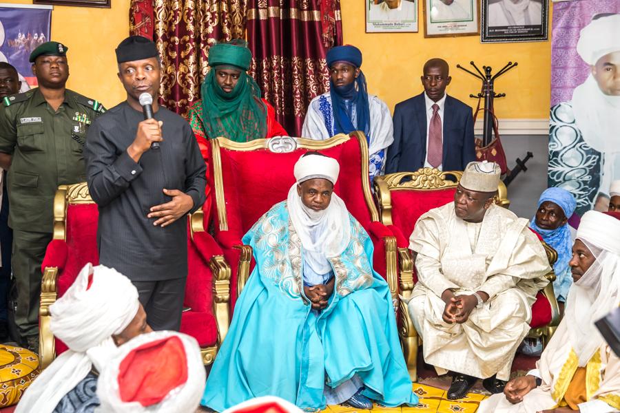 Nigeria is Exceptional, Says Osinbajo in Zamfara