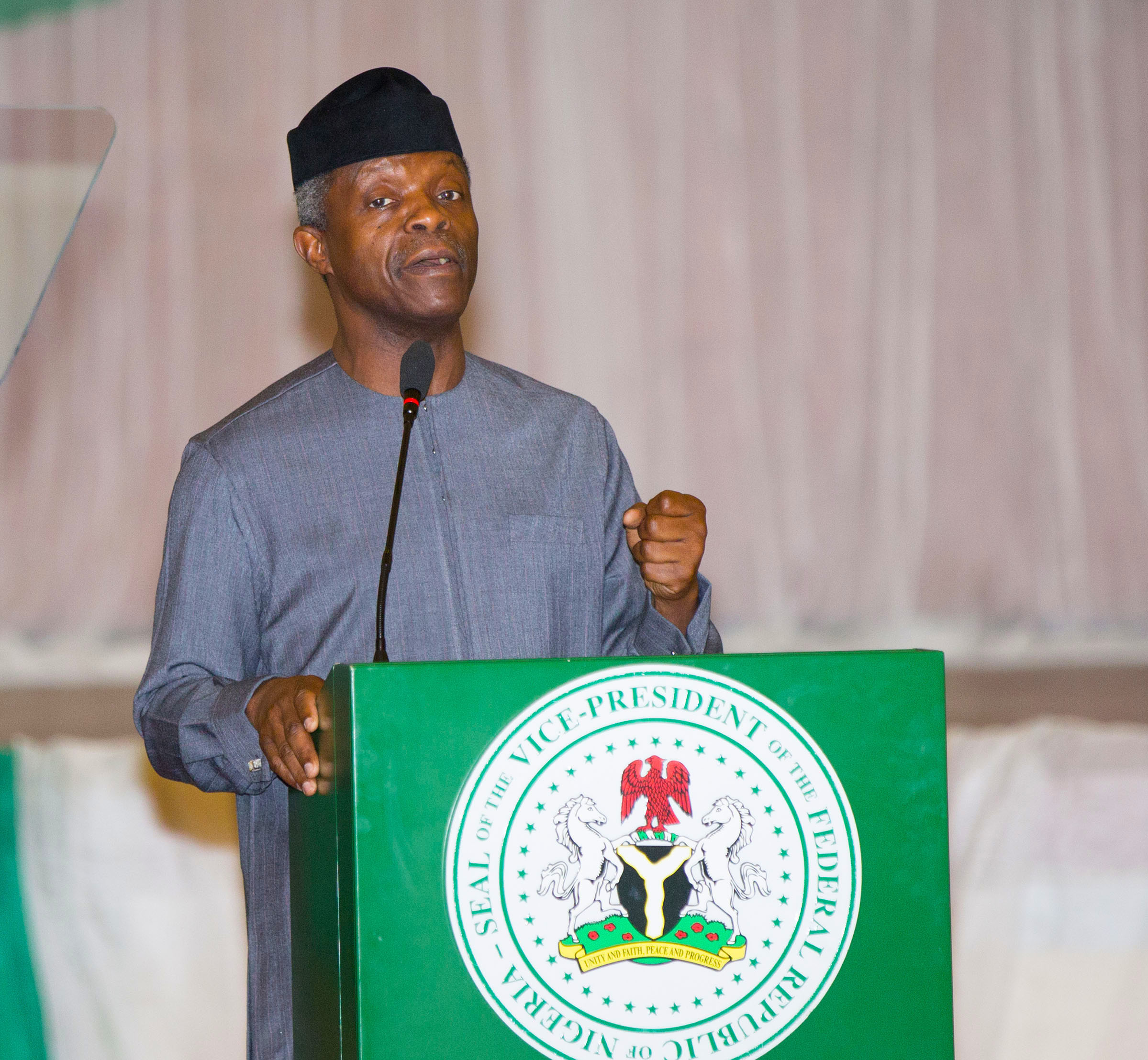 Osinbajo: We will not permit smuggling from neighbouring countries