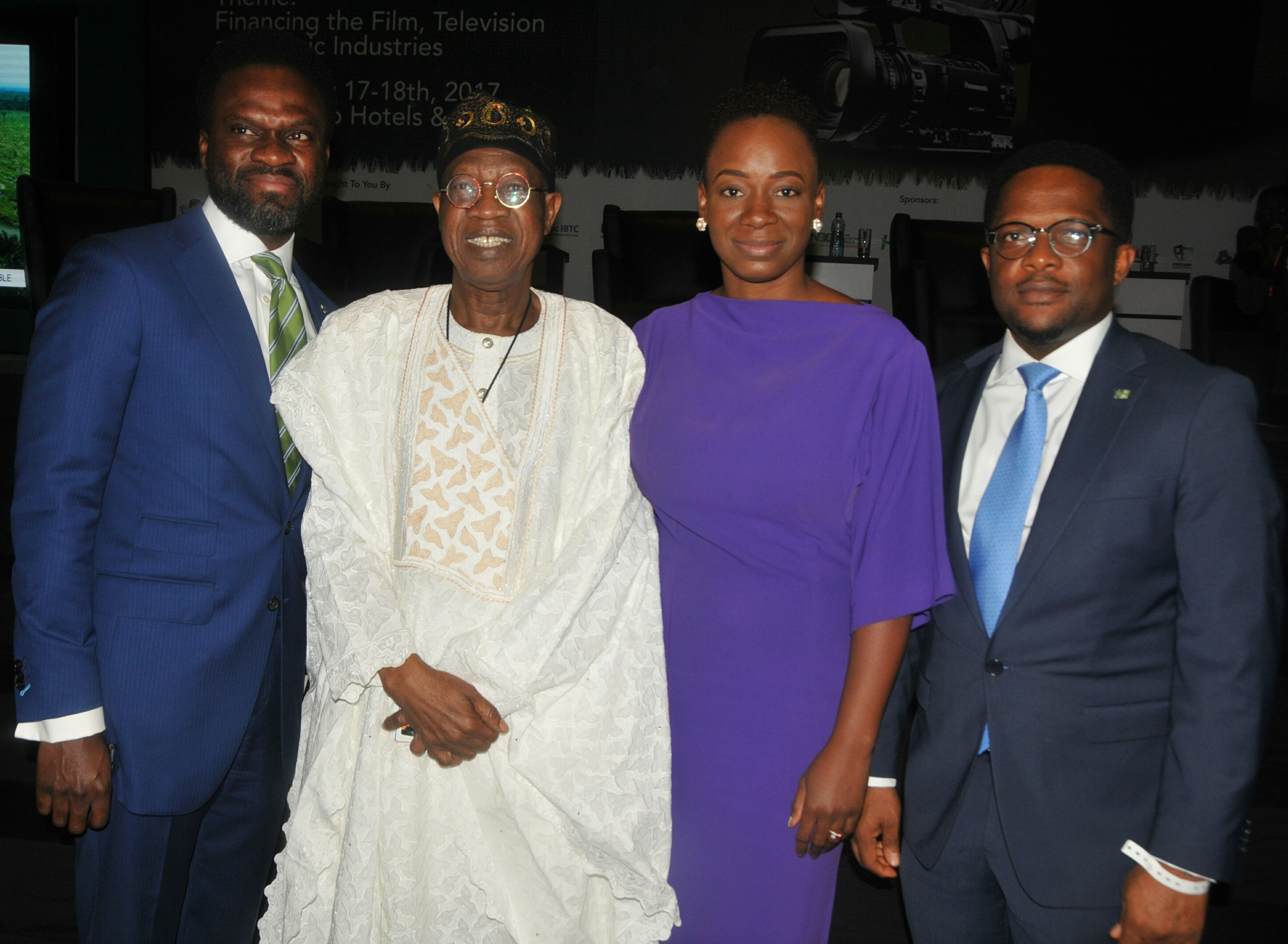 Buhari Administration Commends Heritage Bank's Commitment to Entertainment Industry