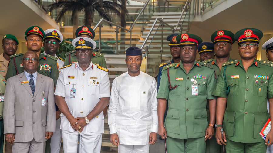 Osinbajo Orders Continued Rescue Mission to Free Abducted Oil Workers