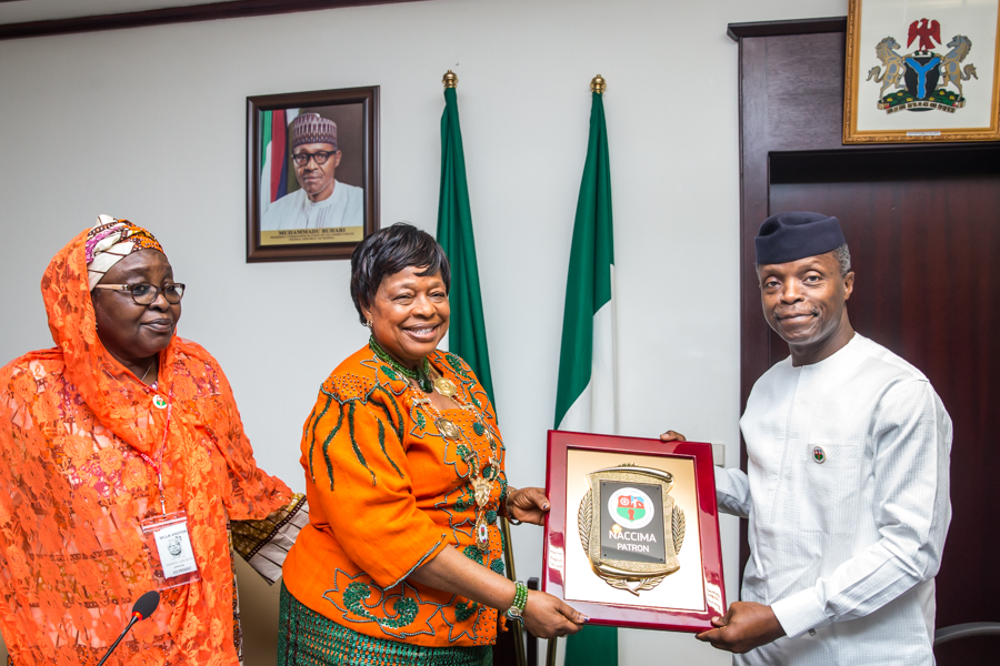 Acting President Osinbajo, Nigeria Association of Chambers of Commerce
