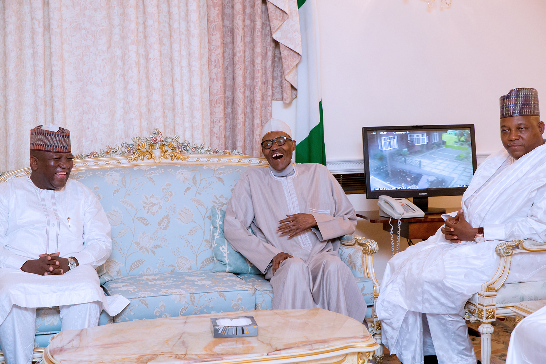 Buhari Has Plenty of Reasons To Smile