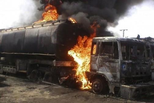 10 die as petrol tanker catches fire in Lokoja