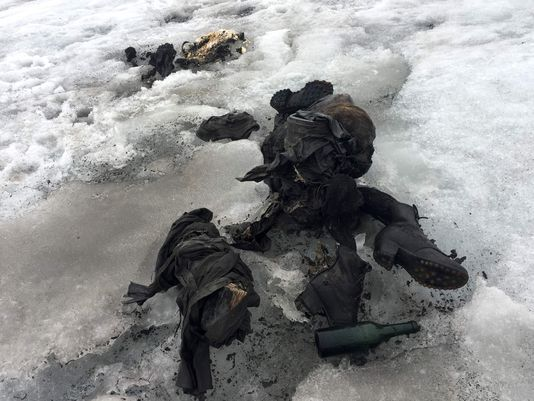 Bodies of Couple Who Went Missing 75 Years Ago Found Near Melting Glacier