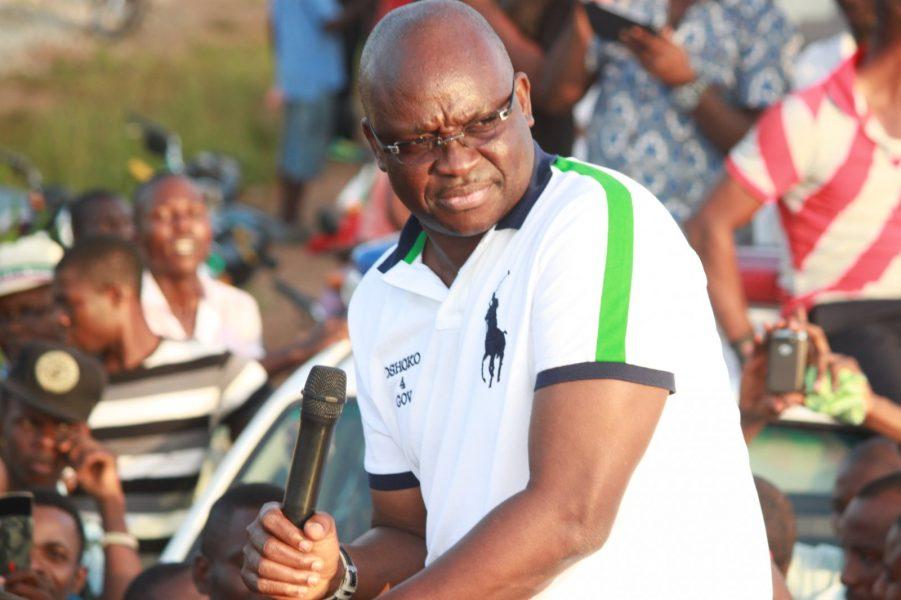 Ekiti APC & 2018: A Re-match of Old Foes; Will Fayose Boast Successfully Again?