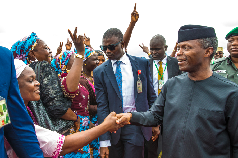 Osinbajo's remarks at HIYA inauguration