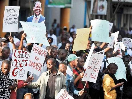 Opposition Party in Kenya Files Challenge Against Election