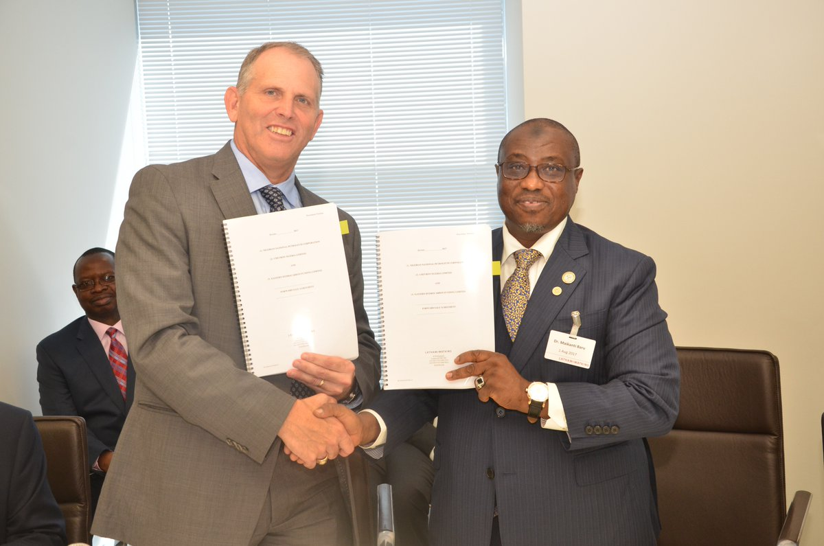 NNPC, Shell, Chevron Sign Agreements to Boost FG Revenue by $16 billion