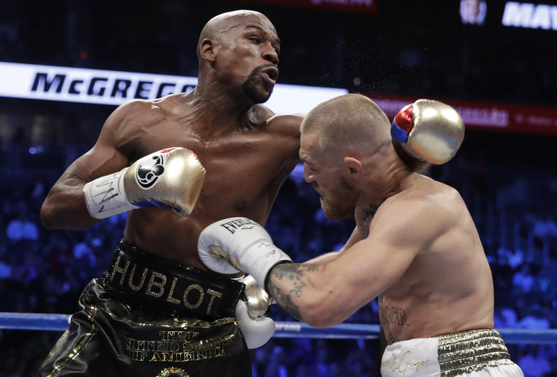Mayweather Defeats McGregor In 10th-Round TKO
