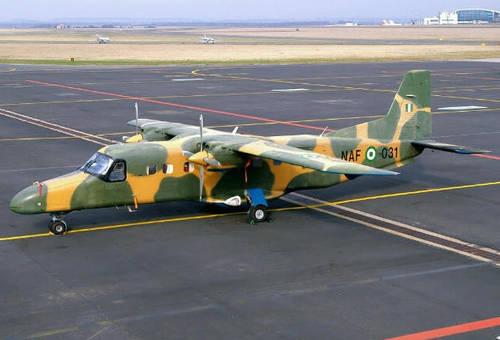 Nigerian Air Force Aircraft Crashes In Kaduna