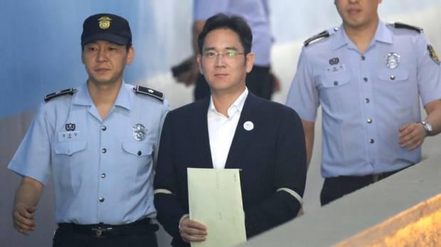 Corruption: Samsung heir sentenced to five years jail
