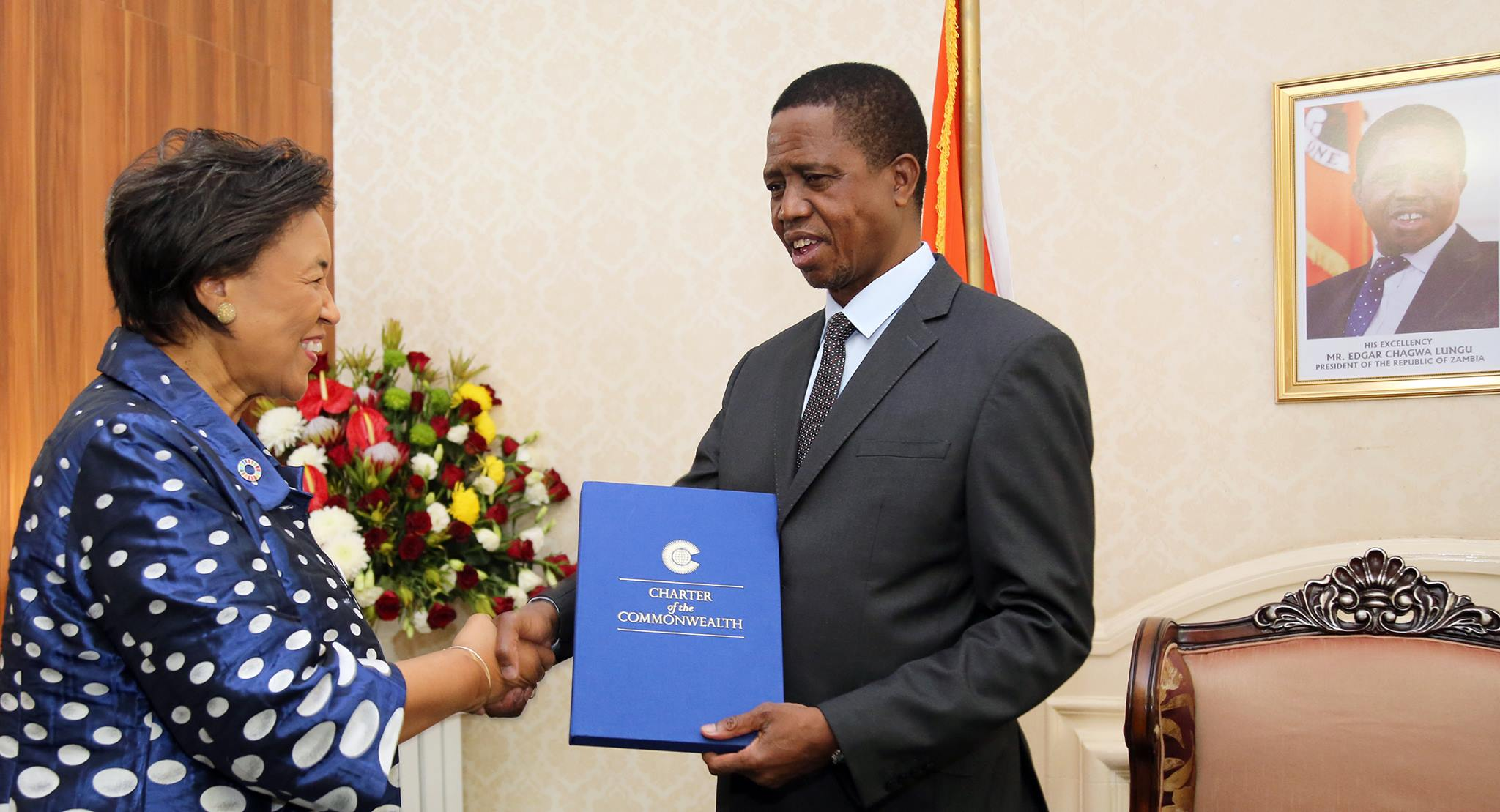 Zambia's President, opposition leader agree to peaceful dialogue