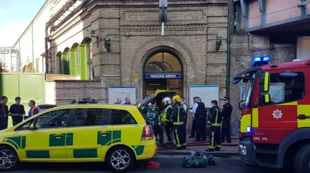 London tube station blast leaves passengers injured in terror incident