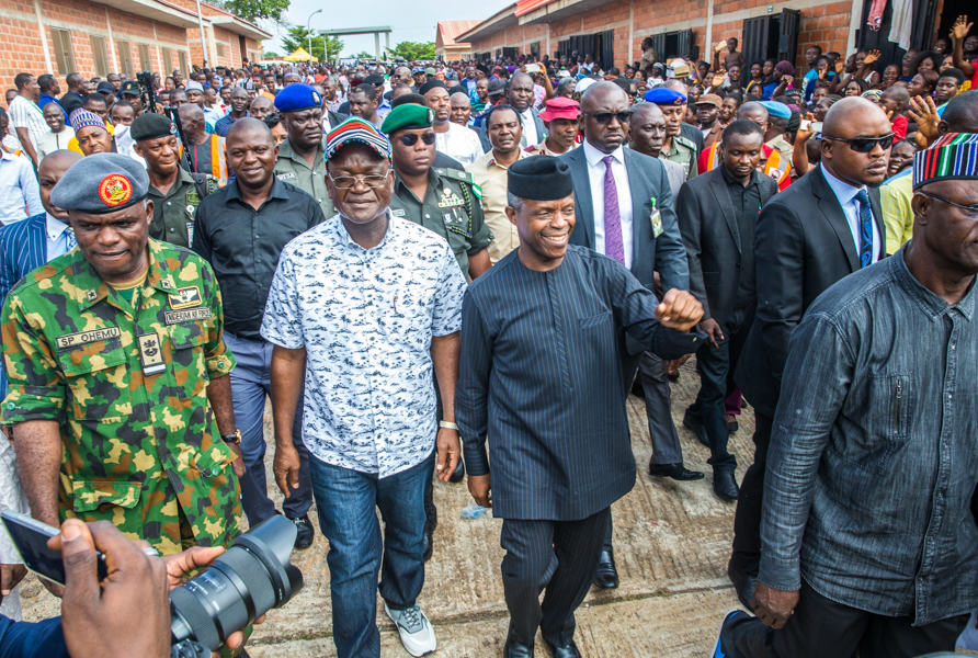 The Day in Pictures: Osinbajo visits Benue Flood Victims