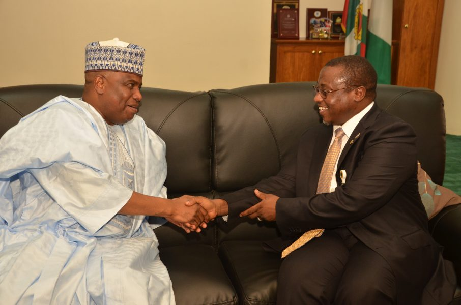 Tambuwal Wants NNPC to Explore Oil in Sokoto Basin