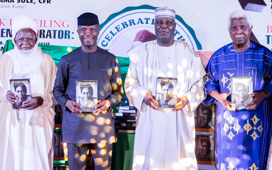 The Day In Pictures: VP Osinbajo, Atiku at the book launch of late Alh. Maitama Sule