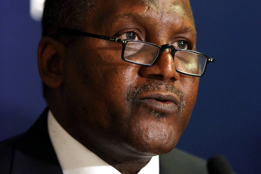 Africa will become the food basket of the world, says Dangote