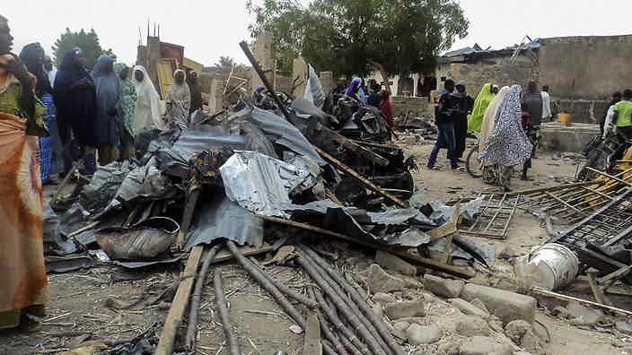 Suicide attack kills at least 15 in Borno state