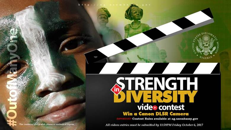 "U.S. Embassy sponsors ""Strength in Diversity"" Video Contest"