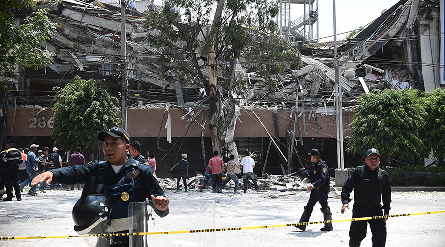 Mexico quake leaves at least 224 people dead