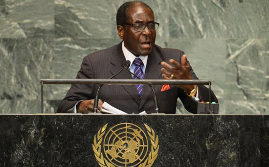 Mugabe calls Trump the 'Giant Gold Goliath' in UN speech