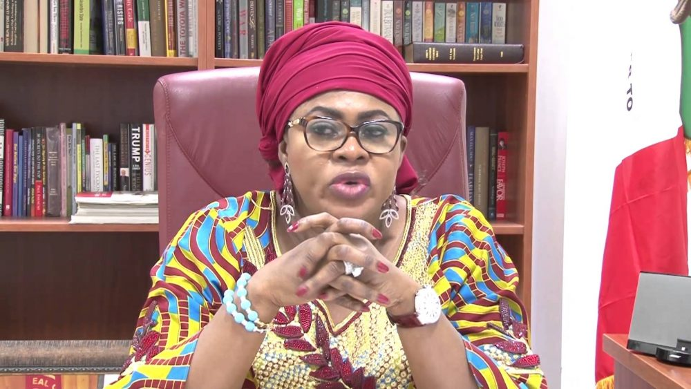 I don't own a $1.2m property in England- Stella Oduah