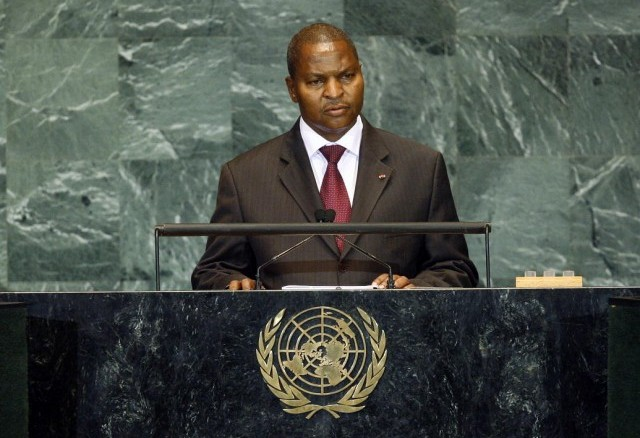 Don't forget us, Central African President pleads to UN