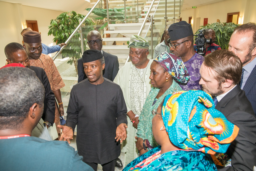 Effective border policing will promote made-in-Nigeria goods- Osinbajo
