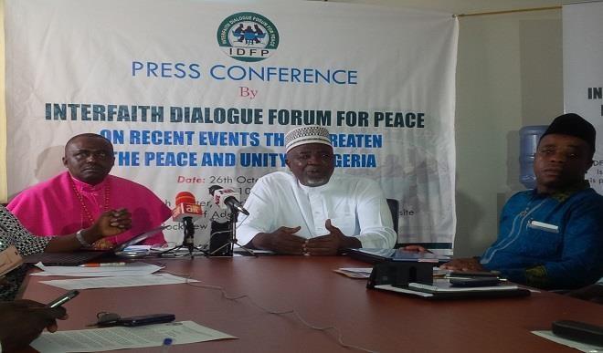 Interfaith Forum calls on govt. to show effort in mitigating killings in Nigeria