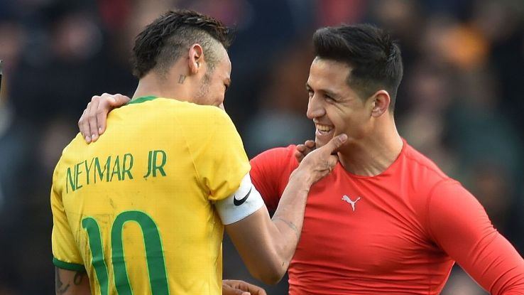 Neymar wants Sanchez at PSG
