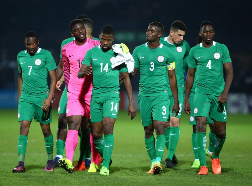 Nigeria now 41 in FIFA rankings