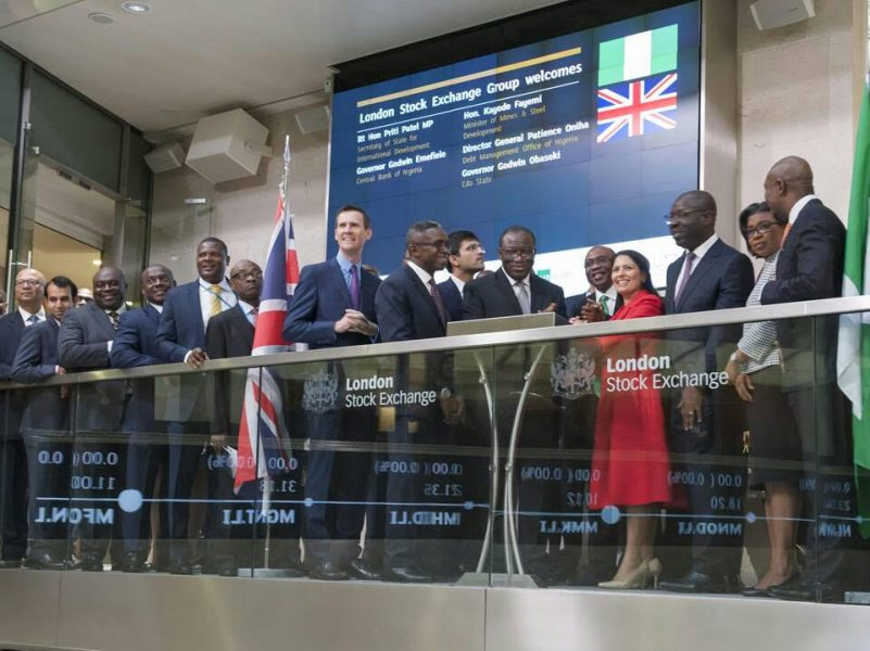 The Day in Pictures: Emefiele at the London Stock Exchange