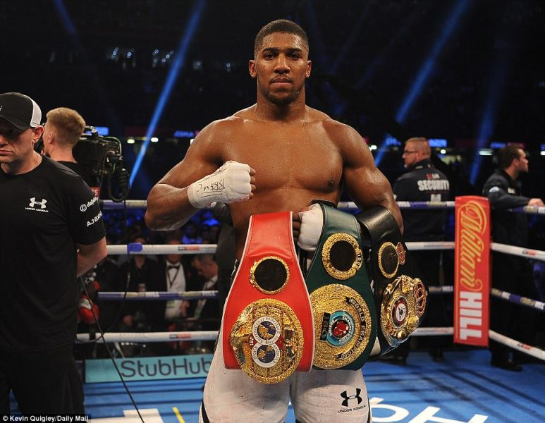 In Pictures: Anthony Femi Joshua knocks out Takam in round 10
