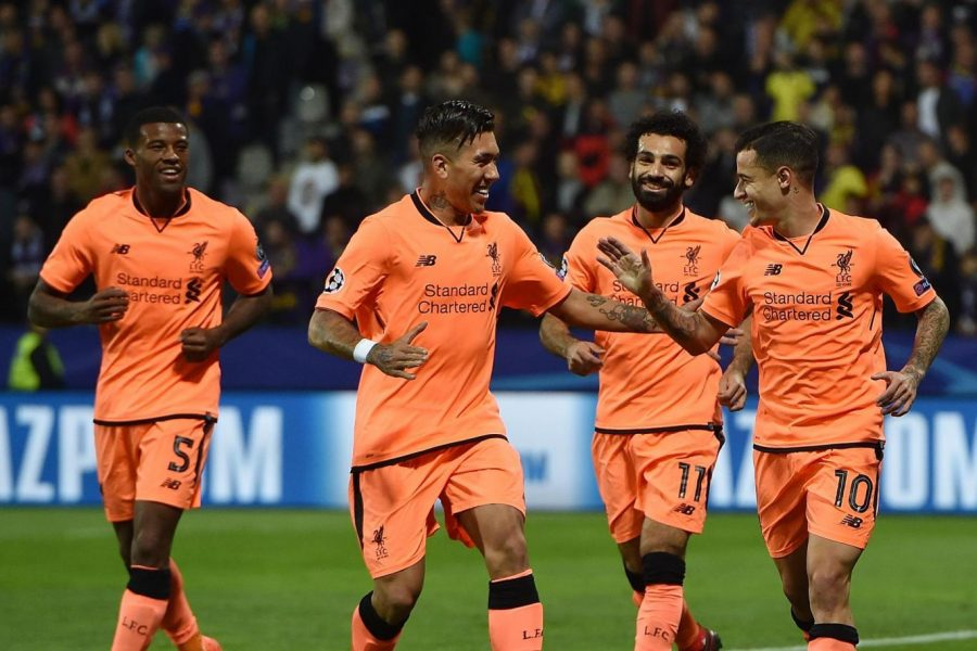 Liverpool Coast to 7-0 Win vs Maribor in Champions League Match