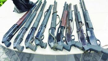 Seven held as police, suspected robbers engage in fierce gun battle