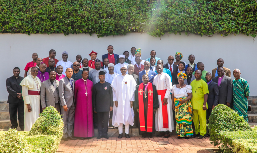 Buhari meets Christian leaders