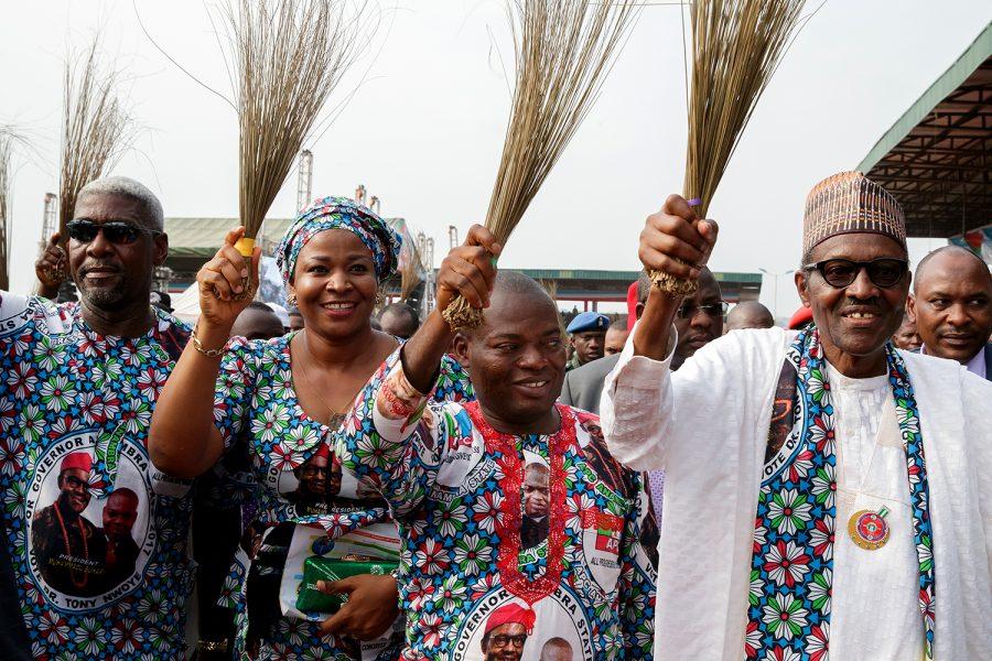Anambra: Buhari returns to the Campaign Trail