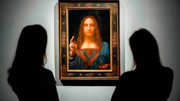 Da Vinci art work depicting Jesus Christ sells for $450m in auction record