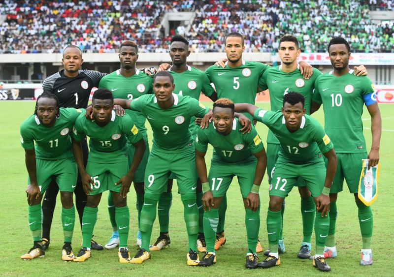Nigeria placed 50th in new FIFA rankings