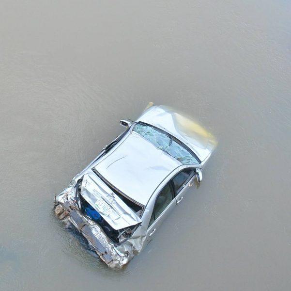 Photos: Car plunges into Asa River