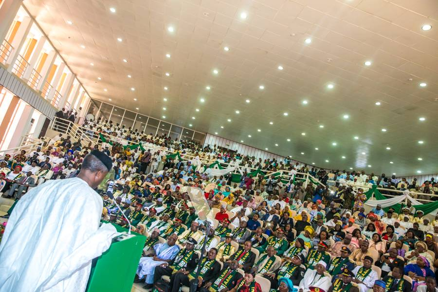 The Day in Pictures: Vice President Osinbajo at NIPSS
