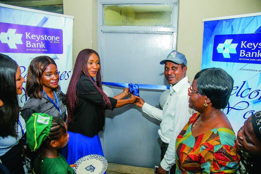 Keystone Bank renovates sick bay in Lagos school