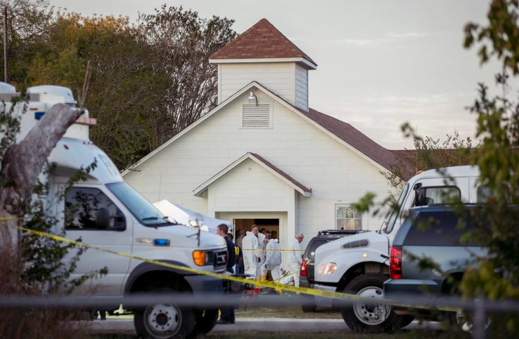U.S opposition party demand gun control in wake of Texas Church shooting