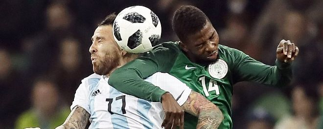 Argentina suffer shock 4-2 defeat by Nigeria