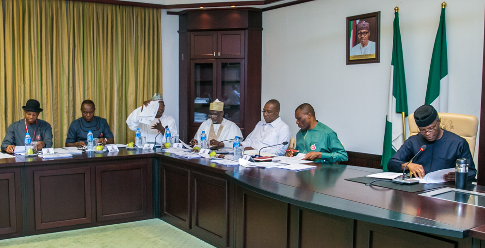 The Day in Pictures: VP Osinbajo presides over NIger-Delta Inter-Ministerial meeting