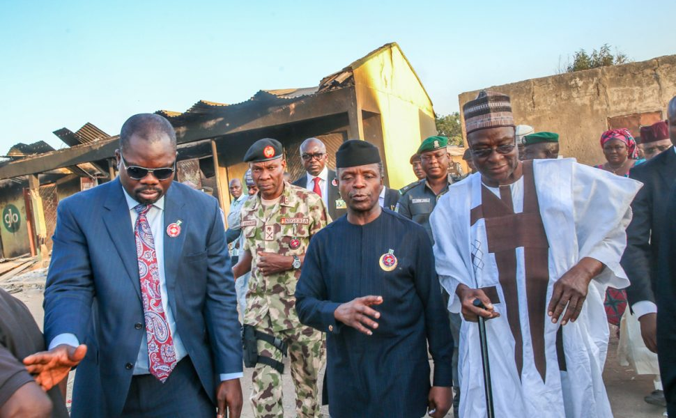 Osinbajo visits Adamawa after communal violence