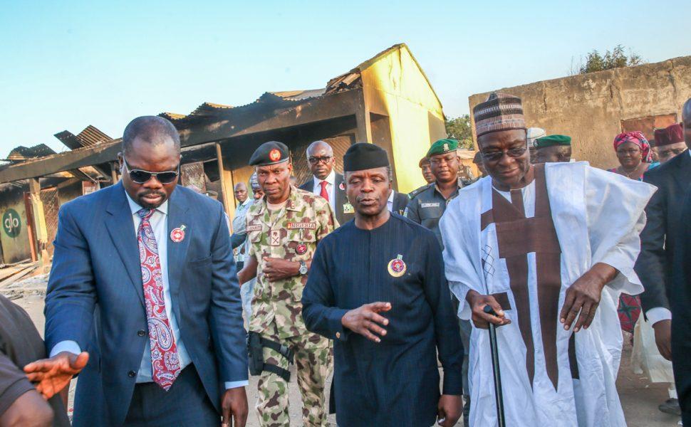 Osinbajo visits Adamawa after communal violence
